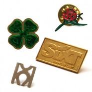 Custom Shaped Metal Badges