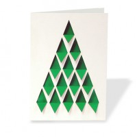 Folded Die-Cut Greeting Cards