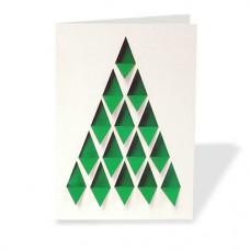 Folded Die-Cut Greeting Cards