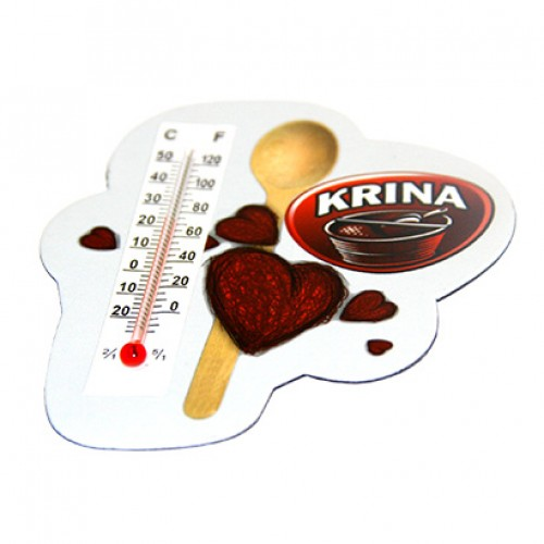 Custom Shaped Magnets With Thermometer